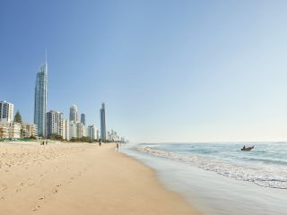 Australian Gold Coast beach view